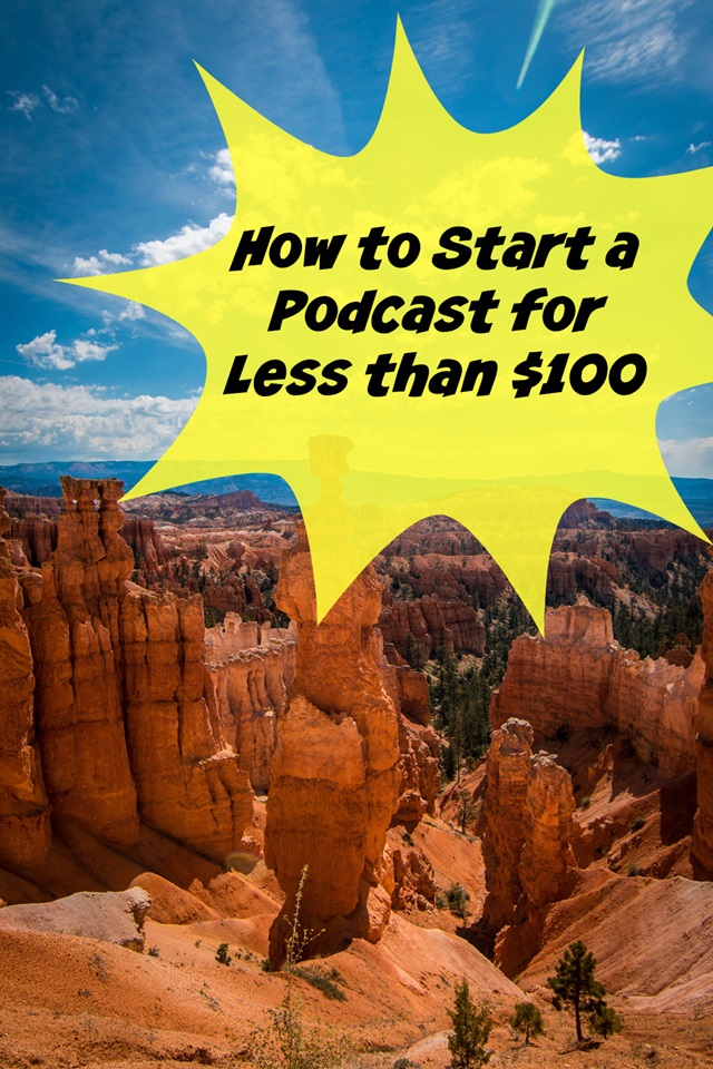 start a podcast blog