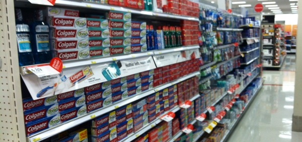 toothpaste aisle