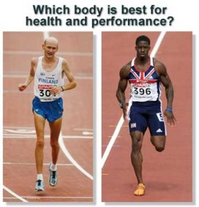 sprinters vs distance runners