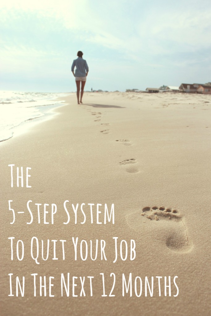 5 steps to quit your job