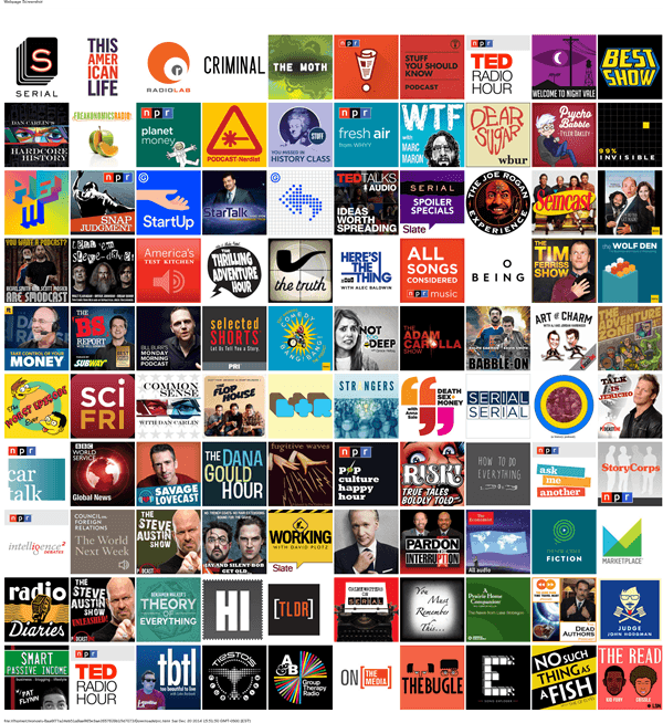 Top 100 Podcasts (2)