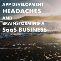 103: Public Coaching Update: App Development Headaches and Brainstorming a SaaS Business
