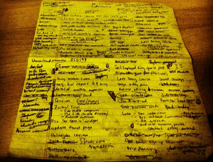 to do list pen and paper