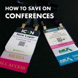 12 Ways to Save Money on Conferences