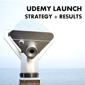 Udemy Launch Strategy and Results – $3525 in 60 Days