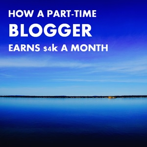 earn money blogging part-time