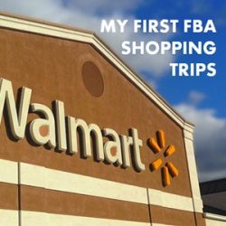 My First Amazon FBA Clearance Arbitrage Shopping Trips – And My First Sales!