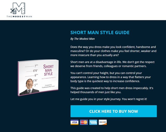 short man style guide
