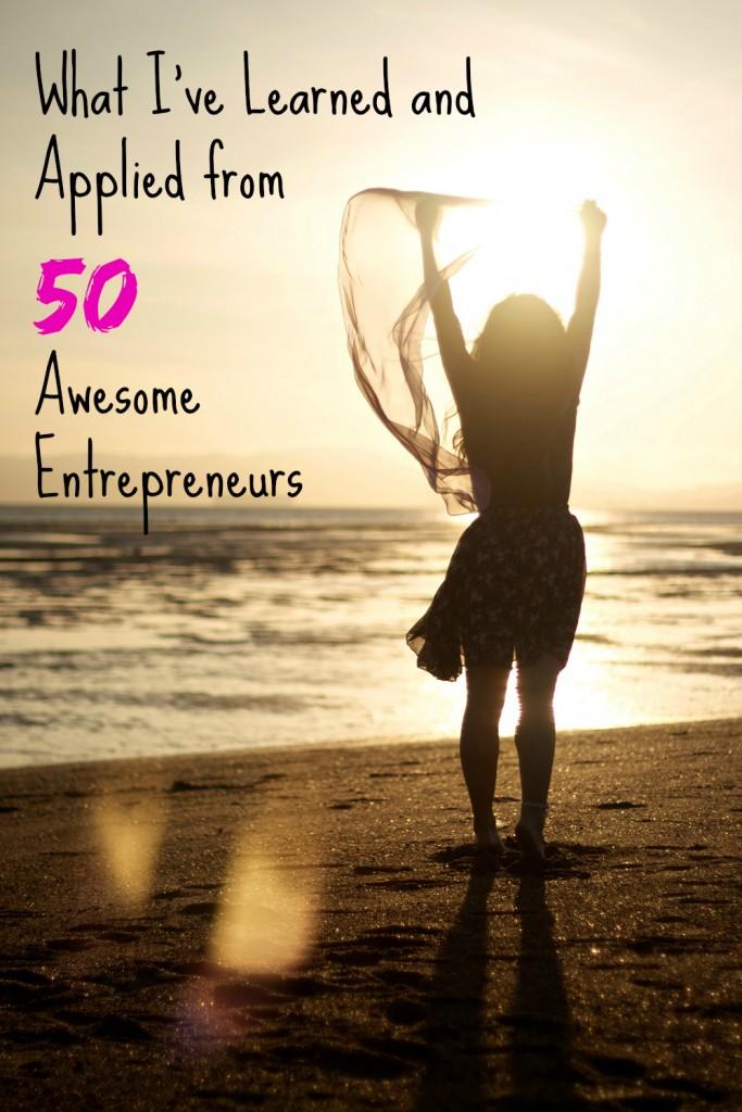 lessons from 50 entrepreneurs