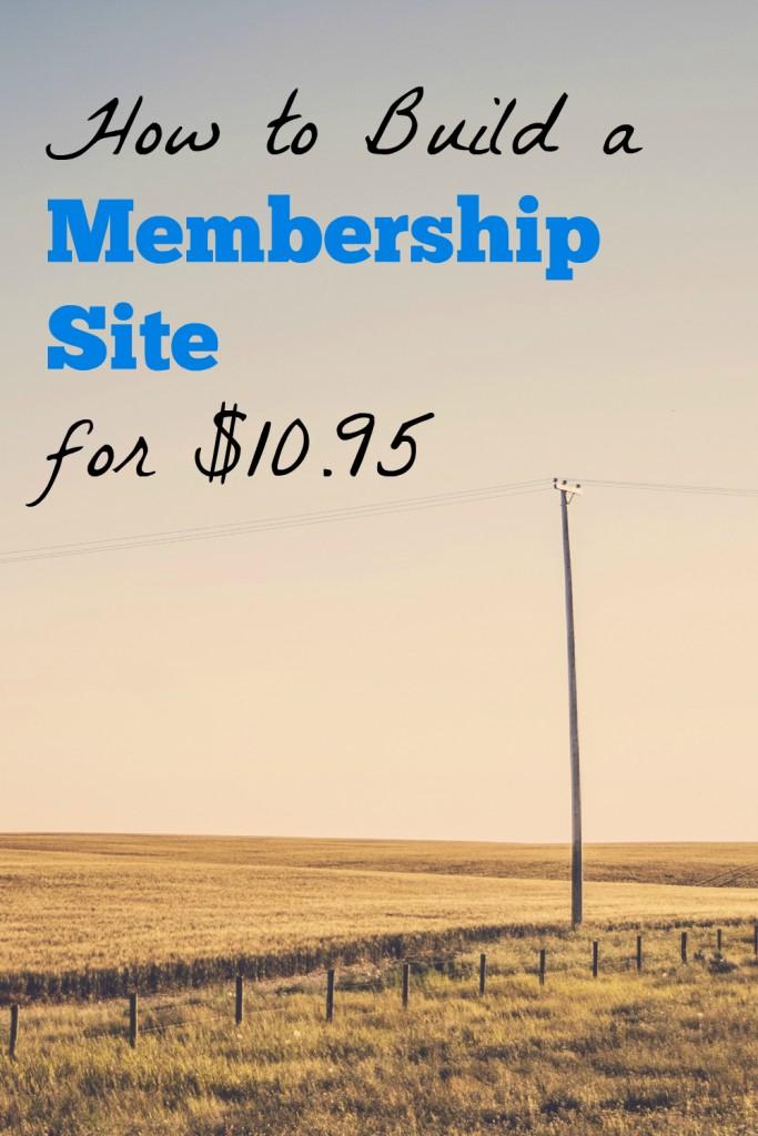 membership site case study