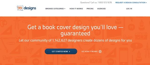 99designs book cover