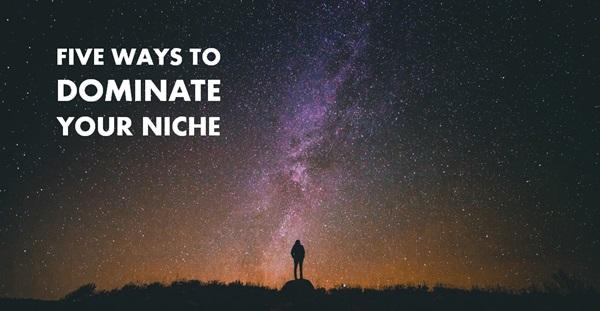 5 ways to dominate your niche