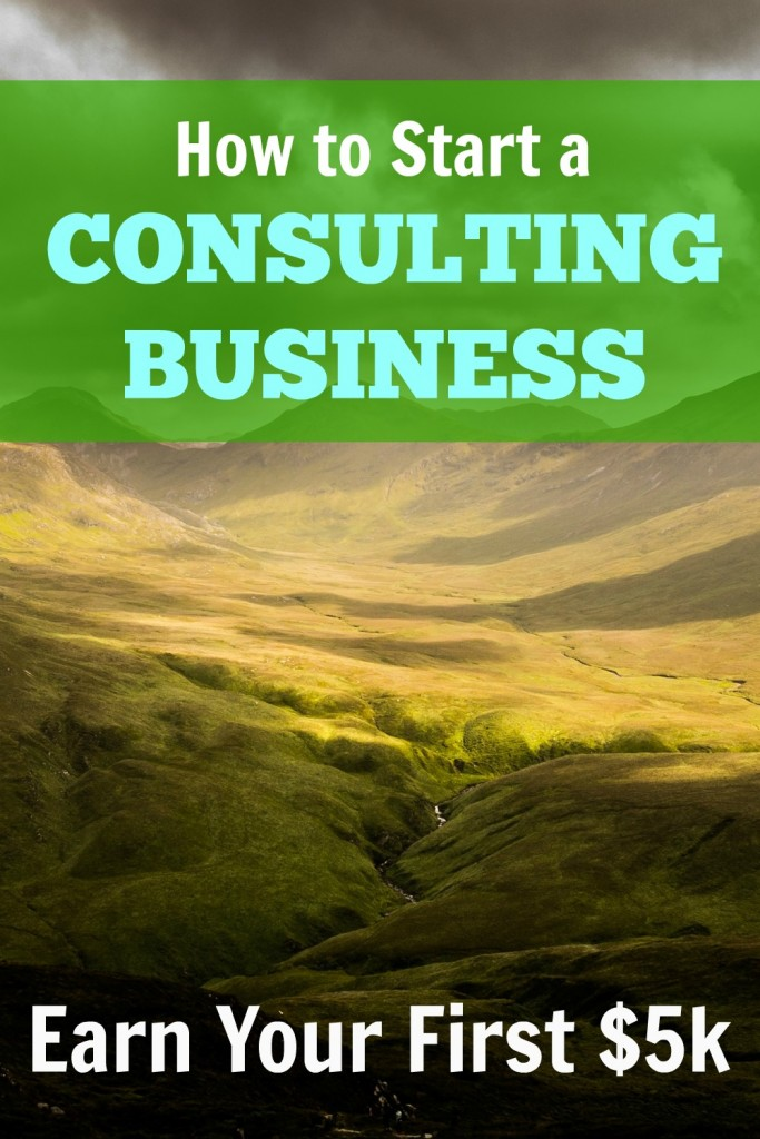 start a consulting business pin