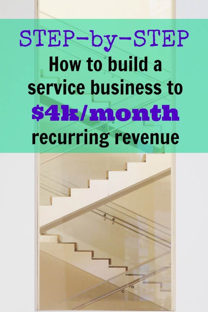 step by step service business