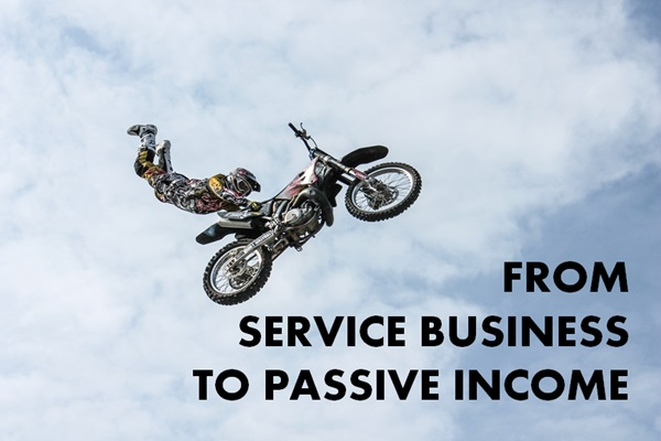 service business to passive income