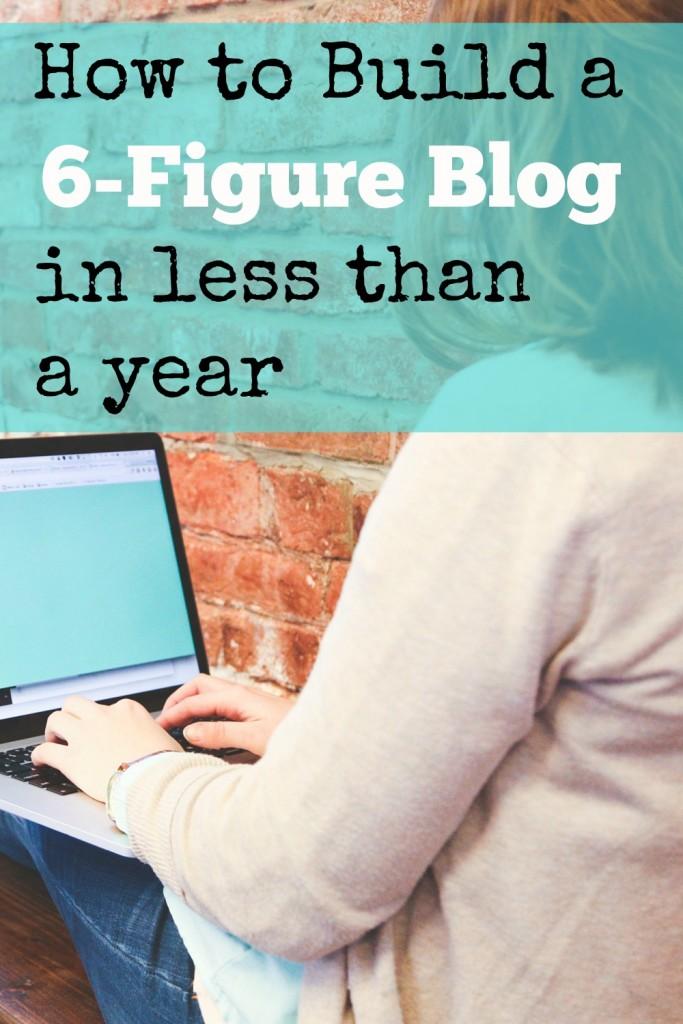 6-figure blog year