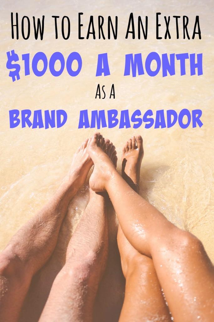 brand ambassador side hustle