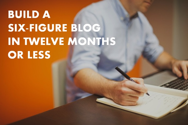 build a six-figure blog