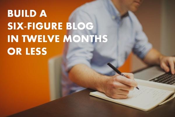 build a six-figure blog