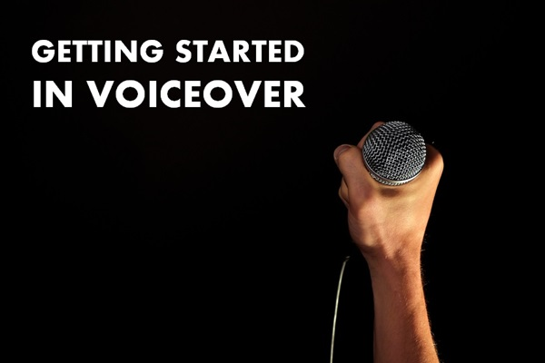 getting started in voiceover