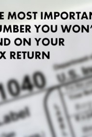 The Most Important Number You Won't Find on Your Tax Return
