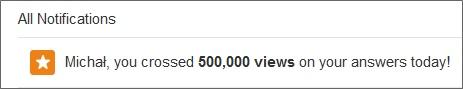 quora 500000 views
