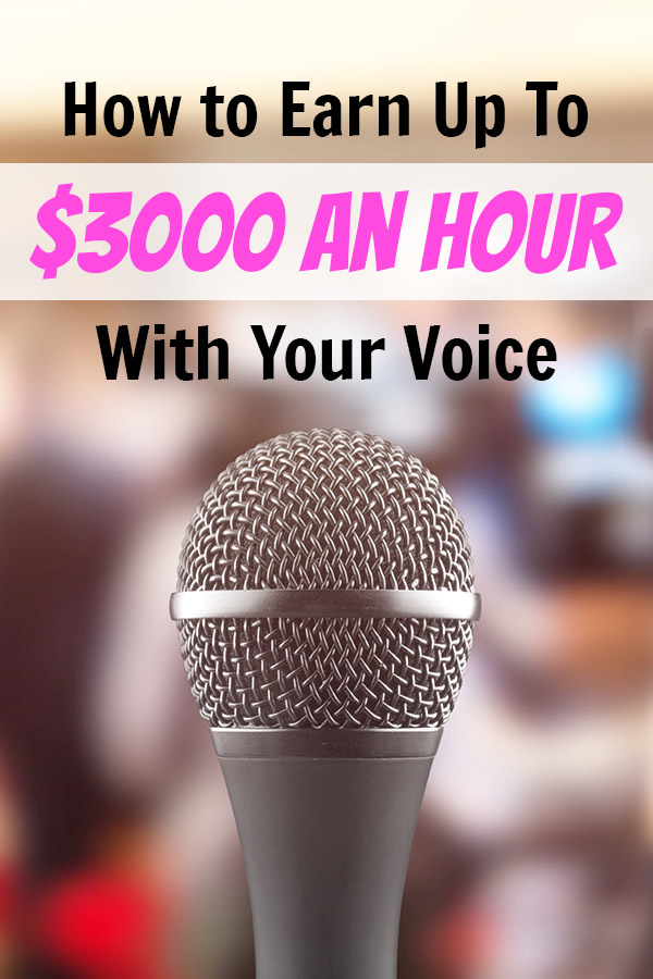 make money as a voiceover artist