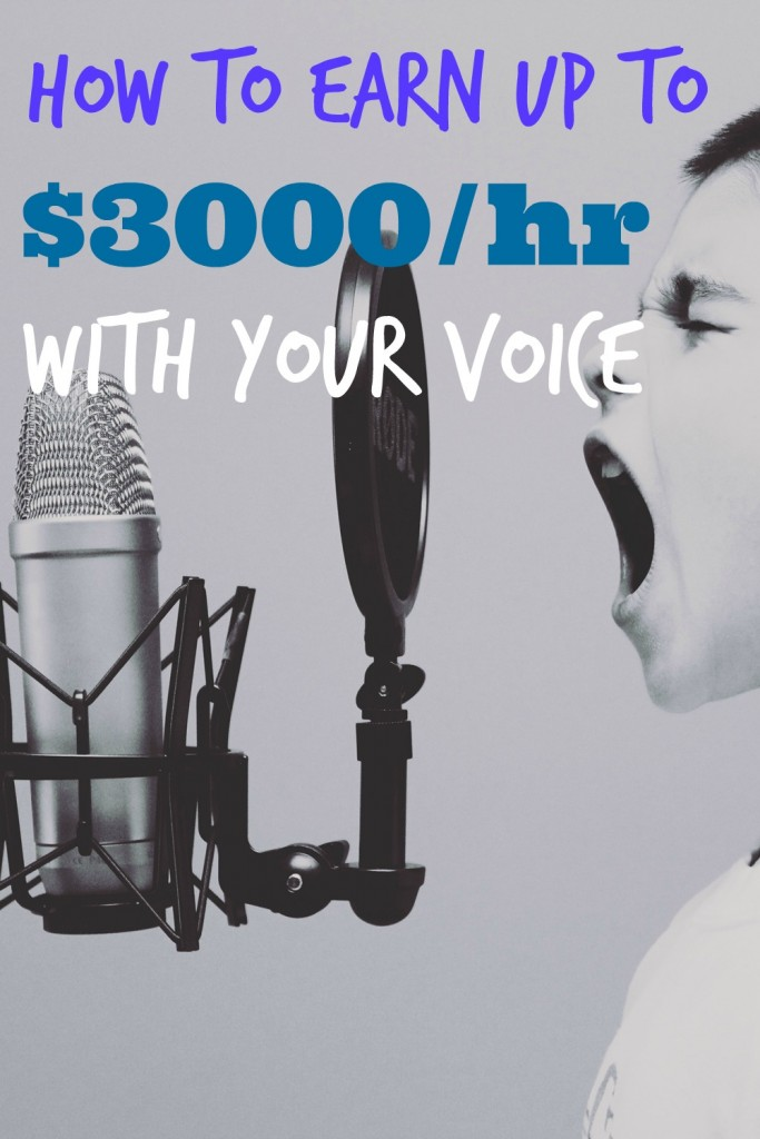 voiceover side hustle