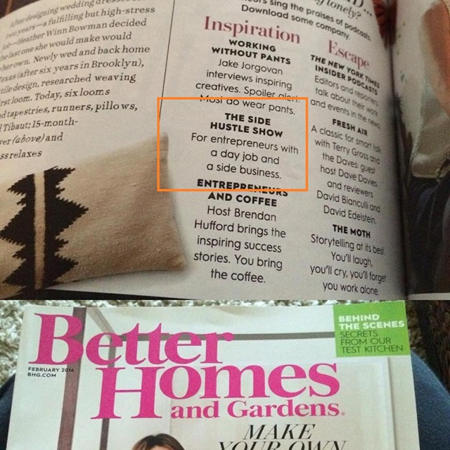 featured in better homes and gardens