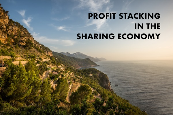 sharing economy profit stacking