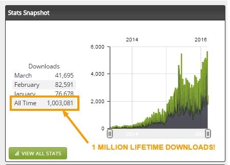 side hustle show million downloads