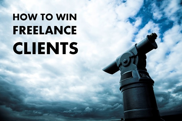 how to win freelance clients
