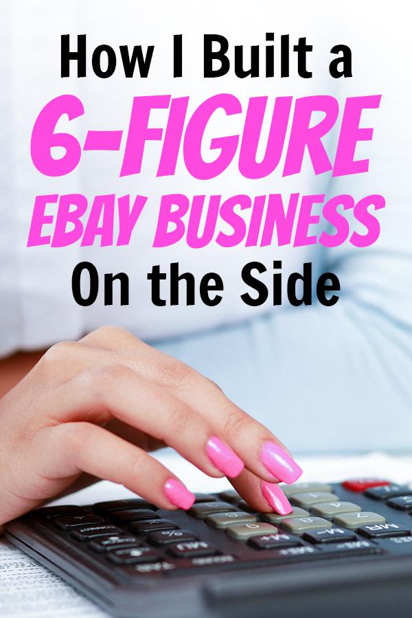 inside a 6-figure ebay business