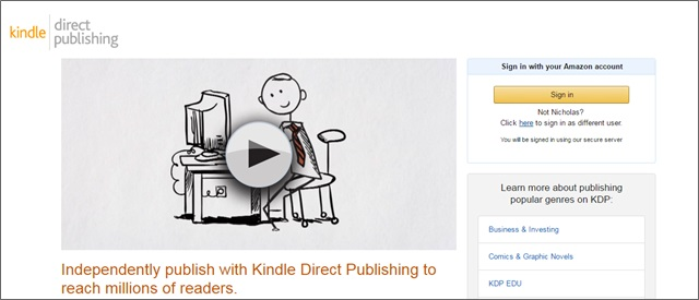 kdp publishing