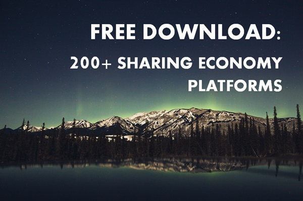 list of sharing economy platforms