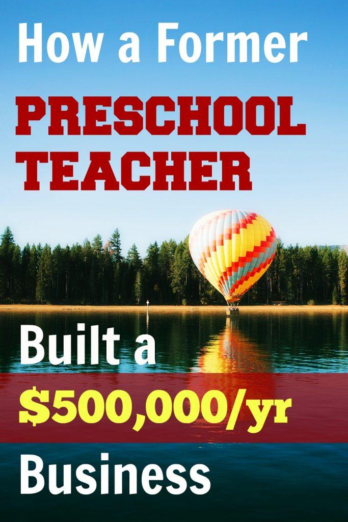 preschool teacher business