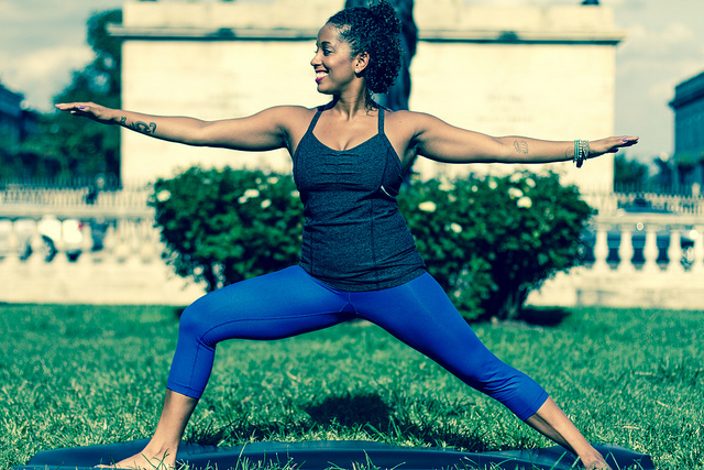 side hustle as a yoga instructor