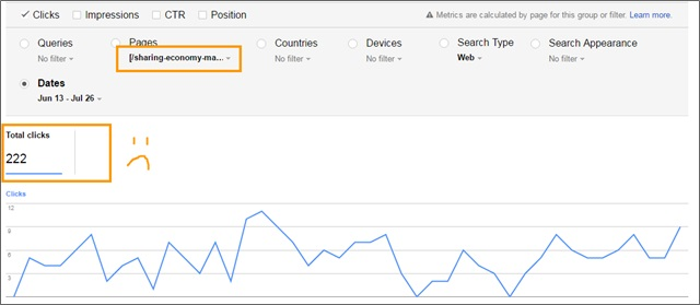 epic content google search console