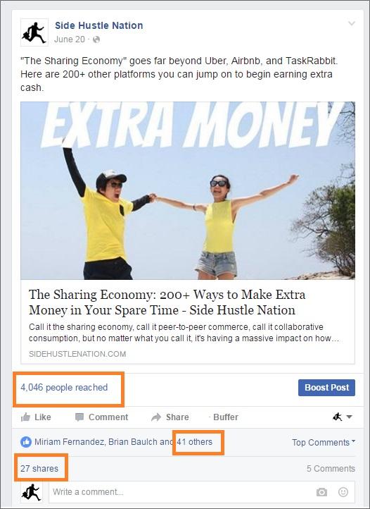 sharing economy facebook