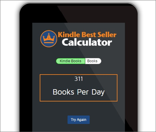 kindle sales estimator