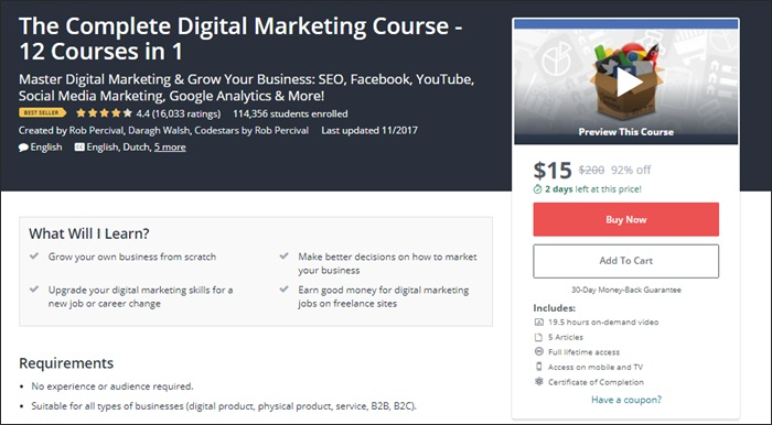 The 134 best udemy courses for entrepreneurs freelancers and side learn how to fandeluxe Choice Image