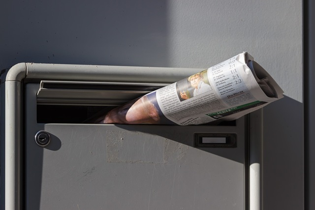 kid business idea - newspaper delivery