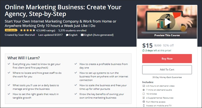The 134 best udemy courses for entrepreneurs freelancers and side the top 10 udemy courses for side hustlers and entrepreneurs fandeluxe Gallery