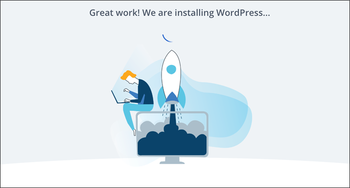 bluehost wordpress install