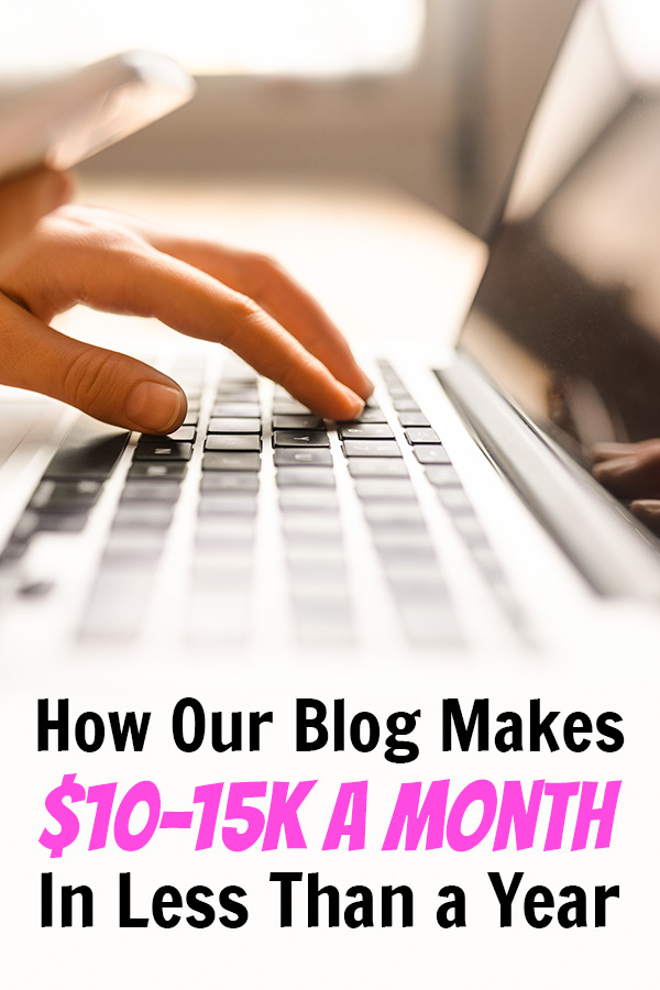 How we started a money-making blog