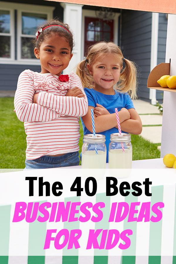 big sale 797f0 33c9e Best Business Ideas for Kids pin