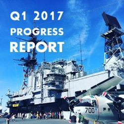 Quarterly Progress Report Q1 2017