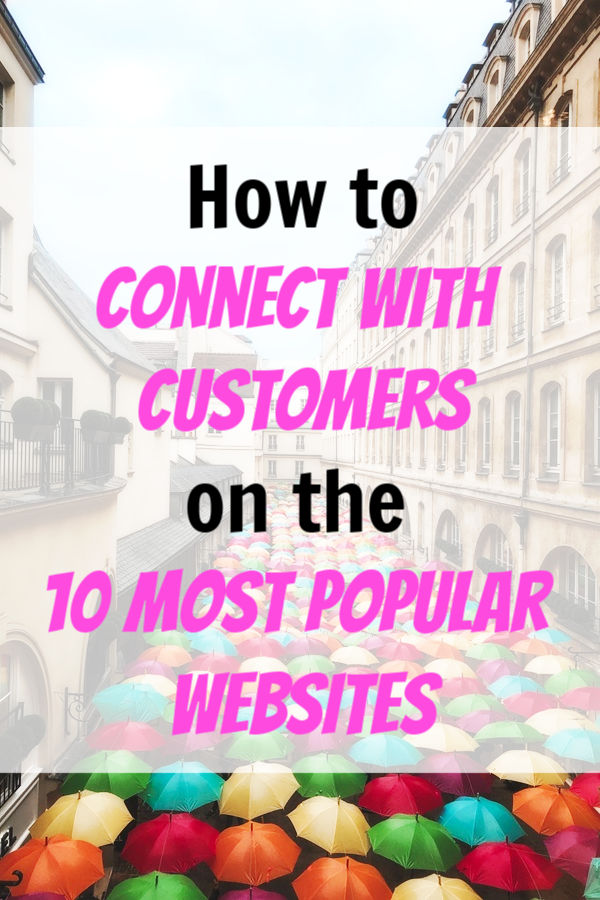connect with customers