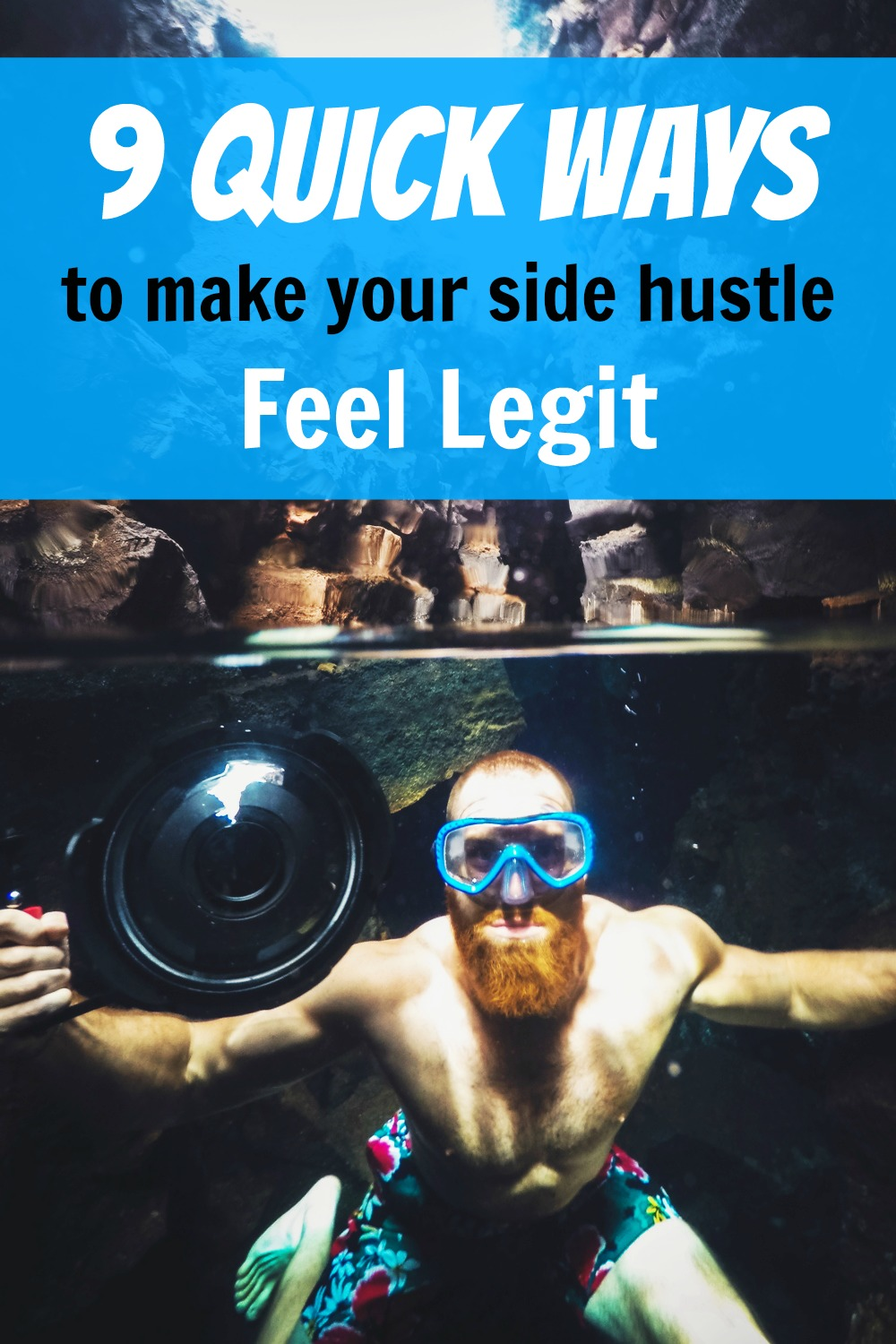 how to make your side hustle feel official