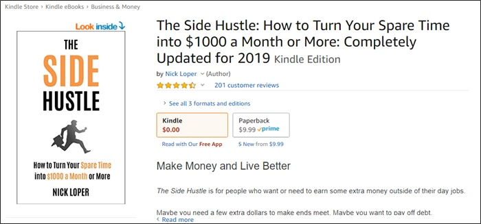 the side hustle book